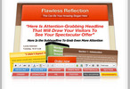 Thumbnail Flawless Reflection Minisite Pack (PLR)