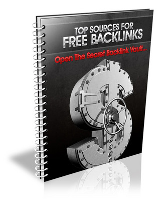 Product picture Backlink Goldmine : Top Sources For Backlinks (PLR)