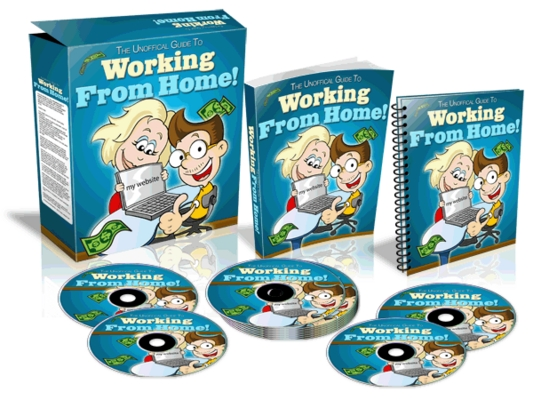 Product picture Working From Home - Website Template (MRR)