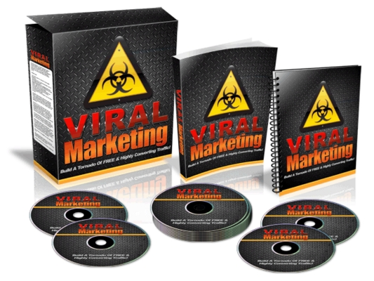 Product picture Viral Marketing - Website Template
