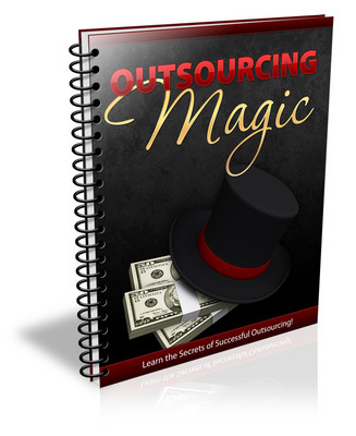 Product picture Outsourcing Magic - ebook